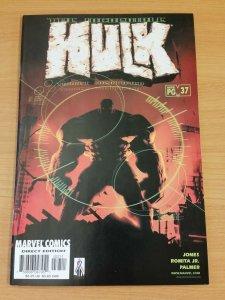 The Incredible Hulk #37 ~ VERY FINE - NEAR MINT NM ~ 2002 MARVEL COMICS