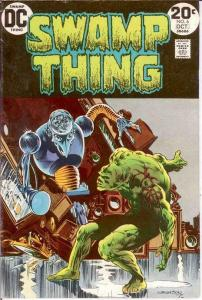 SWAMP THING 6 VERY FINE  October 1973 COMICS BOOK