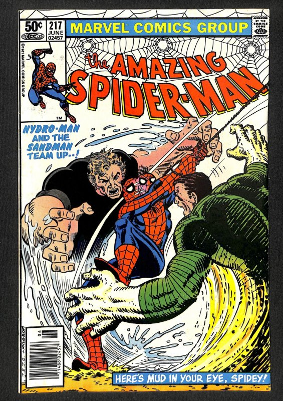 The Amazing Spider-Man #217 (1981)