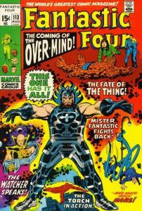 Fantastic Four (1961 series) #113, VF- (Stock photo)