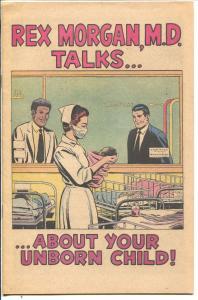 Rex Morgan, M.D. Talks About.Your Unborn Child 1980-no alcohol & tobacco-NM