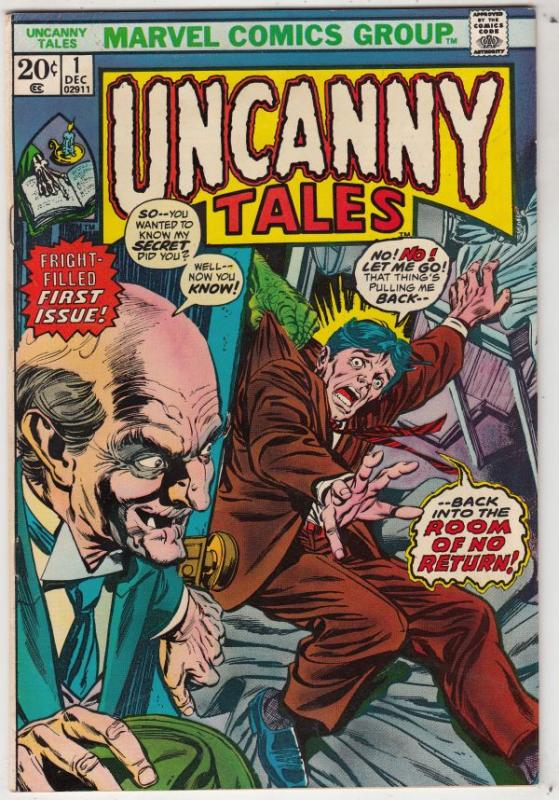Uncanny Tales #1 (Dec-73) VF/NM High-Grade