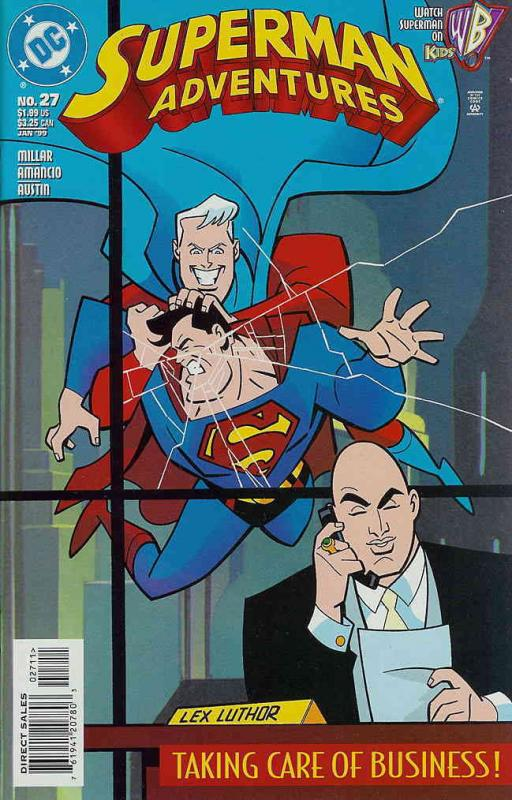 Superman Adventures #27 VF/NM DC - save on shipping - details inside