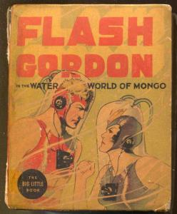 Flash Gordon-The Water World of Mongo #1407 1937-Whitman-Alex Raymond-G