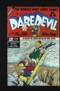 Daredevil Comics (1941 series) #93, Fine (Actual scan)