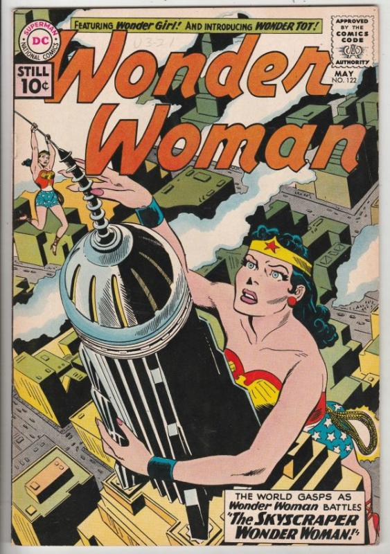 Wonder Woman #122 (May-61) NM- High-Grade Wonder Woman