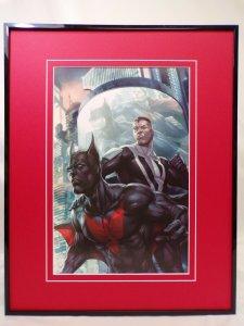 Superman Batman Annual #4 Framed 16x20 Poster Display DC Comics Artgerm