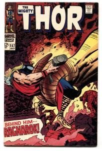THOR #157-1968-JACK KIRBY-MARVEL-SILVER AGE FN+