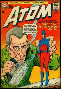 The Atom #16 1964- Gil Kane- DC Silver Age- Weird cover VG