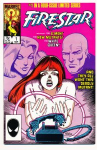 Firestar (1986) #1-4 VF Complete Series