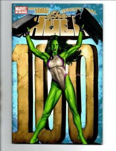 She-Hulk #100 - Slott - 1st Mr Orobourous & Mr Paradox - KEY - 2006 - VF/NM