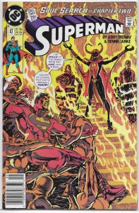 Superman   vol. 2   # 47 VG (Soul Search 2)