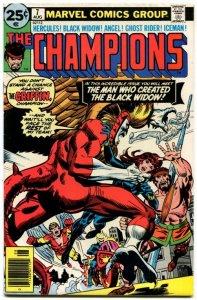 Champions #7 (7.0) 1976 Bronze Age Marvel