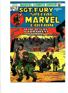Special Marvel Edition #14 - Sgt Fury and his Howling Commandos - 1973 - VF/NM