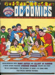 Amazing World of DC Comics #2 1974-Superman-Superboy TV series-Green Lantern-...