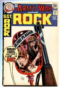 OUR ARMY AT WAR #237 1971-DC-SGT ROCK  joe kubert -VF
