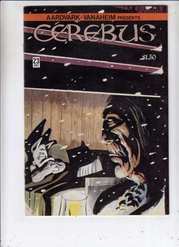 Cerebus #23 (Dec-80) NM- High-Grade Cerebus the Aardvark