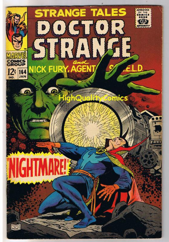 STRANGE TALES 164, VF, Jim Steranko, Nick Fury, Dr, 1951, more in store