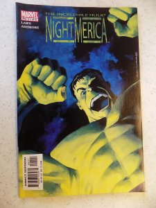 INCREDIBLE HULK NIGHT MERICA # 1