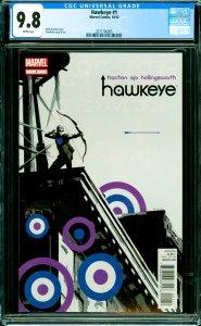 Hawkeye #1 CGC Graded 9.8