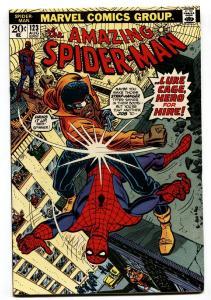 AMAZING SPIDER-MAN #123 1973-MARVEL COMICS-Luke Cage cover vf/nm