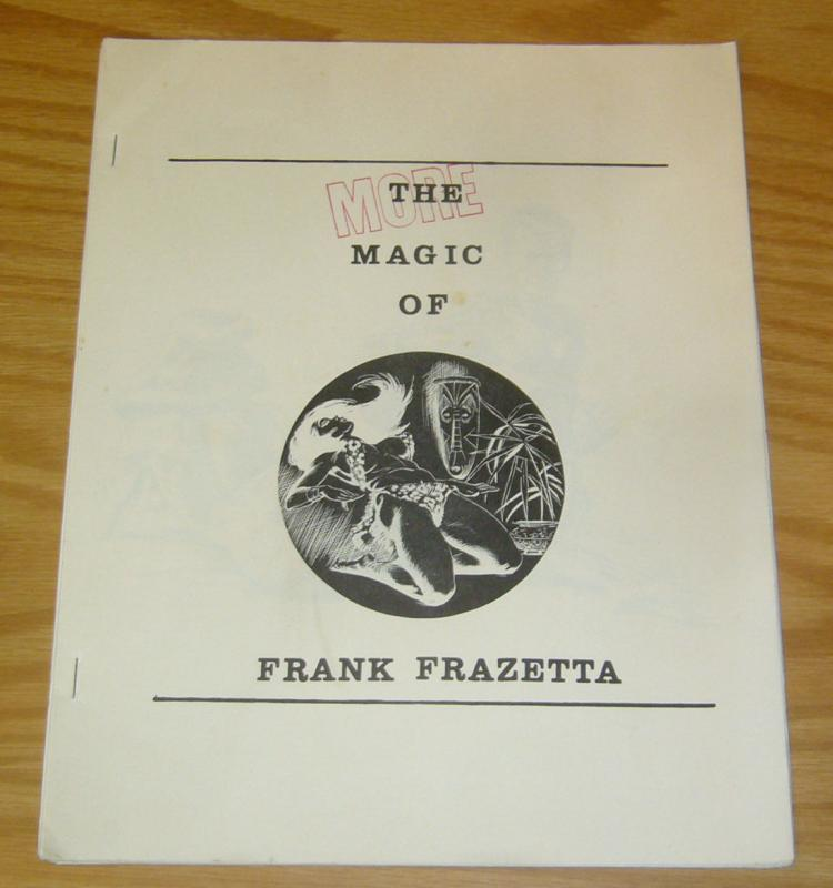 More Magic of Frank Frazetta #1 FN fanzine - hard to find