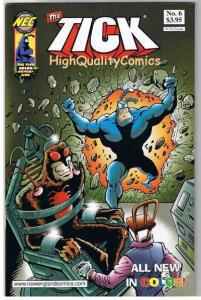 TICK in COLOR #6, NM+, Ben Edlund, TV series, 2001, more Tick in store