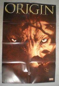 ORIGIN / WOLVERINE Promo Poster, 24x36, 2001, Unused, more in our store, TGR
