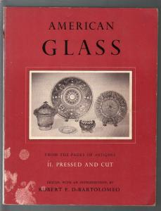 American Glass 1974-Pyne-history of American pressed & cut glass-G/VG