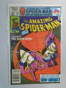 Amazing Spider-Man #223 News Stand edition 9.2/NM- (1981)