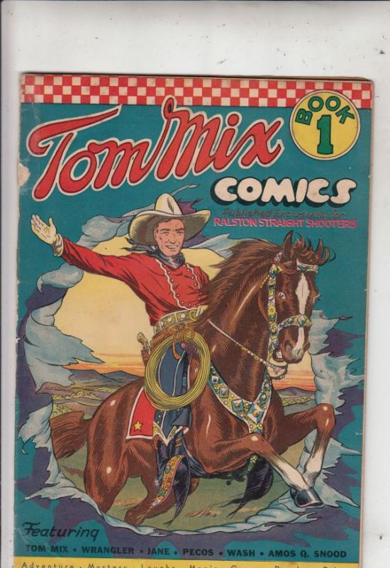 Tom Mix Comics #1 (Sep-40) VG+ Affordable-Grade Tom Mix