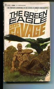 DOC SAVAGE-THE GREEN EAGLE-#24-ROBESON-G-JAMES BAMA COVER-1ST EDITION G