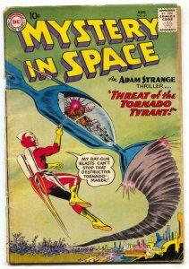 Mystery In Space #61 1960- ADAM STRANGE -Gil Kane G/VG