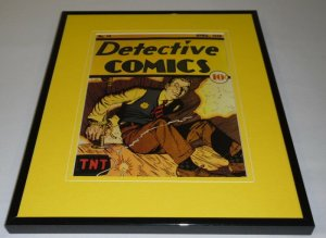 Detective Comics #14 DC Framed 11x14 Repro Cover Display