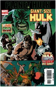 Planet Hulk Giant Size #1, NM