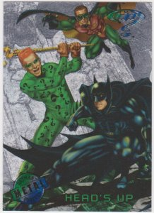 1995 Batman Forever Metal #82 Heads Up
