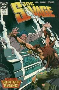 Doc Savage (DC) #13 VF/NM; DC | save on shipping - details inside