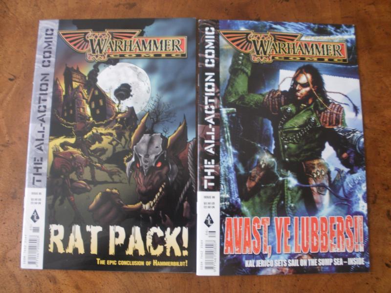 Warhammer Comic #85 #86 (Black Library) 2004 Rat Pack Kal Jerico