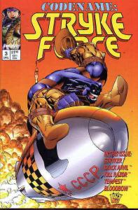Codename: Stryke Force #3 VF/NM; Image   save on shipping - details inside