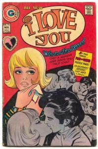I Love You #106 1973-  Charlton Romance comic- VG