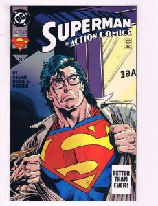 Action Comics #692 VF DC Comics Comic Book Superman DE19