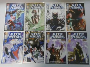 City of Heroes lot 27 different avg 8.5 VF+ (2004-07 Image/Blue King)