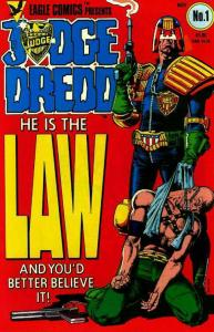JUDGE DREDD SAMPLER 10-DIFFERENT, 'HE IS THE LAW!'