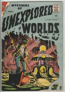 Mysteries of Unexplored Worlds # 10 Strict VF+ High-Grade Artist Steve Ditko