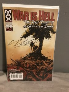 WAR IS HELL #5 NUMBERED 1/20 Signed By Ennis And Chaykin DYNAMIC FORCES