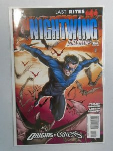Nightwing #153 Final issue 1st Series 8.0 VF (2009)