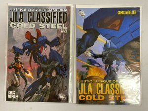 JLA Classified Cold Steel set from:#1-2 DC 2 different books 6.0 FN (2000)