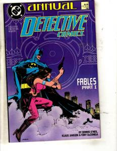 9 DC Comics Detective ANNUAL # 1 2 3 4 + Batman # 13 14 15 400 Legends 1  J319