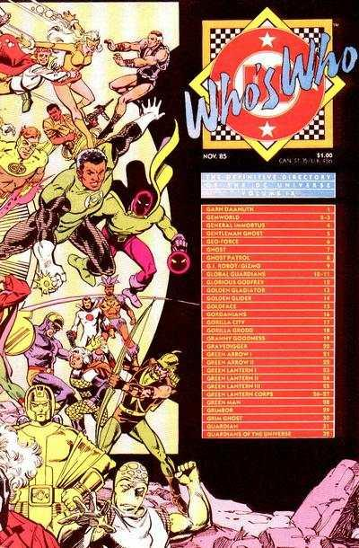 Who's Who: The Definitive Directory of the DC Universe #9, VF+ (Stock ph...