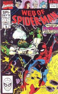 Spider-Man, Web of Annual #6 (Jan-90) NM- High-Grade Spider-Man